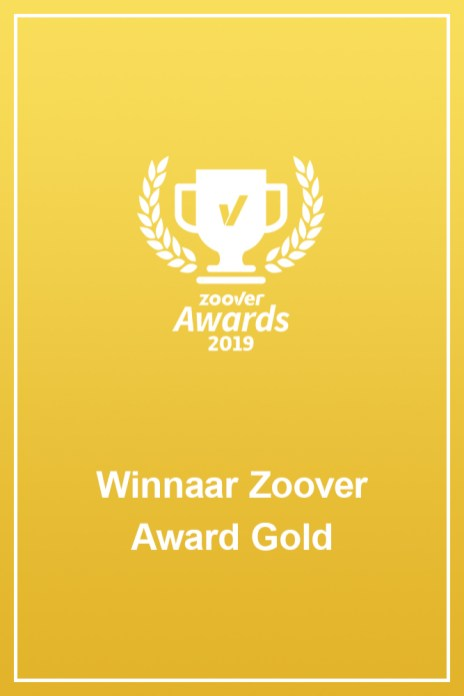 Zoover awards 2019 banner