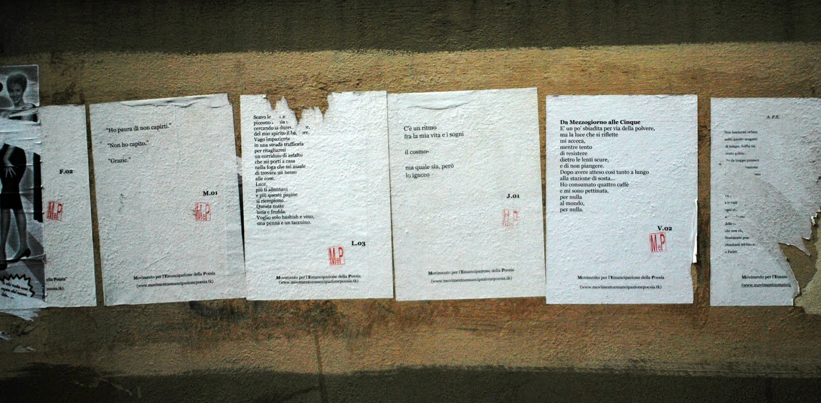 "Da ""Bar None Group"", rivista letteraria statunitense - http://www.barnonegroup.com/2011/07/street-poetry-of-firenze.html"