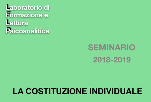 Seminario LFLP 2018/19