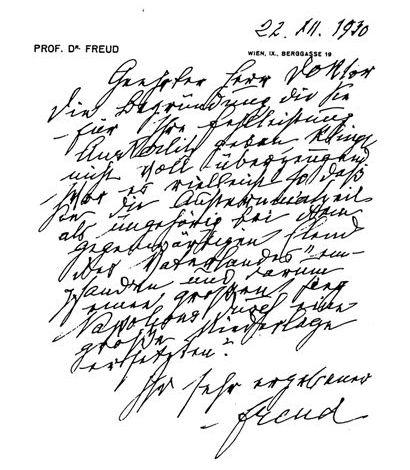 Freud scrittura rinaldi