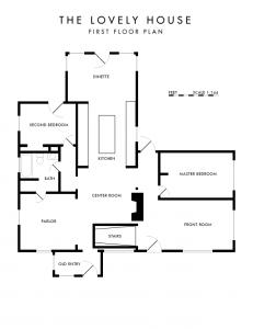 House Plan « Casa de Lovely