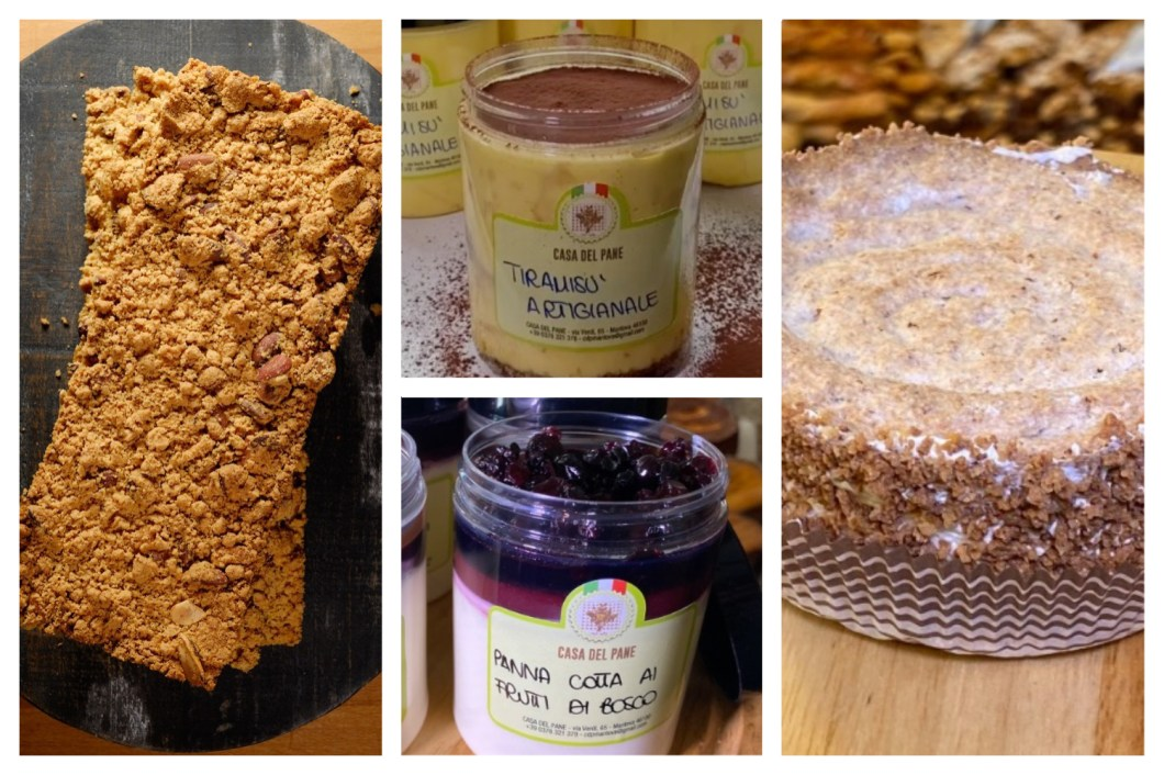 DOLCI ASSORTITI DELLA CASA - SWEET AND CAKES FROM THE SHOP *