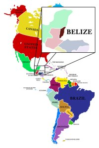 Where is Belize located 1