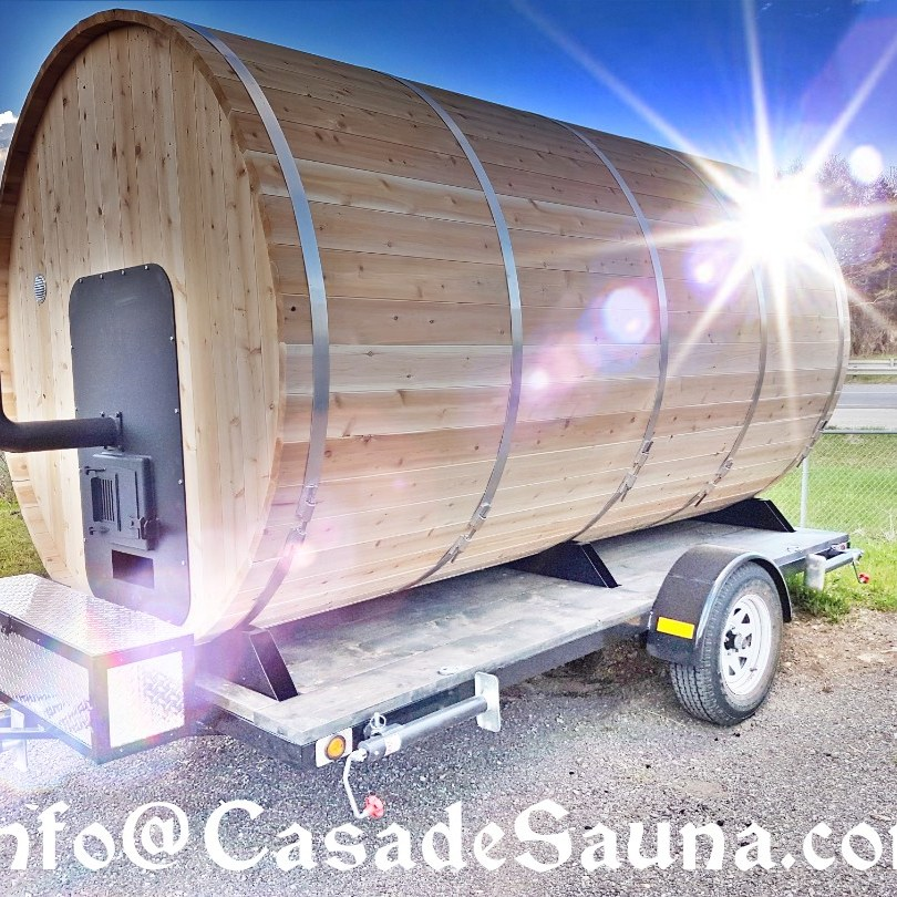 We Manufacture Best Mobile Saunas in North America