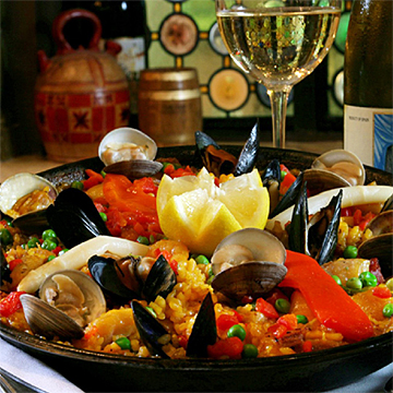 Specialty Paella Dinner at Columbia Restaurant