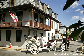 Horse-drawn carriage tour through the Old City
