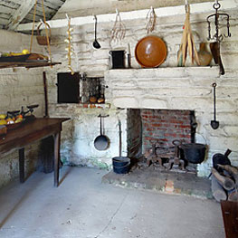 oldest house interior
