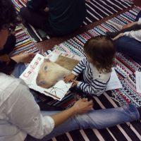 La librería Cerezo se llenó de niños