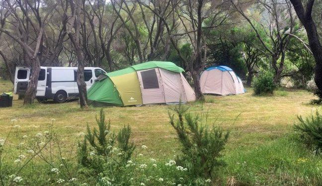 Camping Casa Di Luna à Galéria en corse du nord