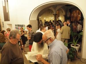 Dezenas de pessoas participaram do painel sobre 'Chuetas' em Palma de Mallorca
