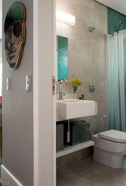 Banheiros Modernos  80 Decoraes Geniais com Dicas