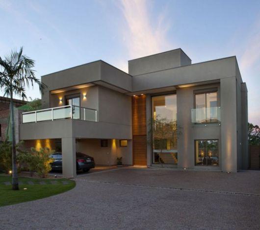 Fachadas de Casas Modernas  90 Inspiraes Para Se