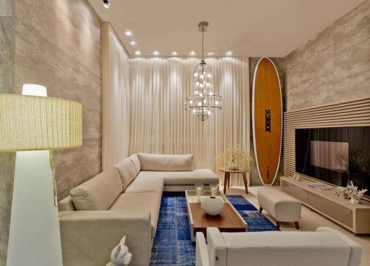 sofas modernos para sala de tv oak sofa table plans 55 fotos e modelos decoracao moderna