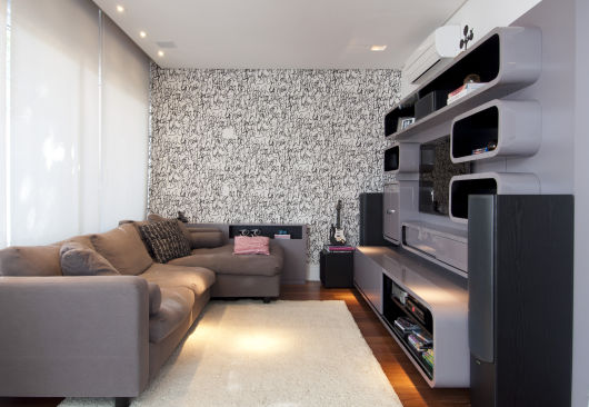 Sof com chaise 55 modelos e ideias de como usar na sala