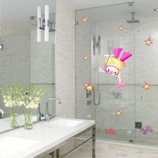 Adesivos para banheiro modelos tipos e 60 fotos