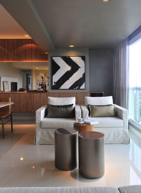 Quadros para sala decorativos 65 inspiraes lindas