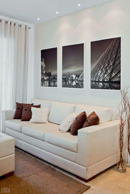 65 Quadros para Sala Decorativos Inspiraes e Ideias