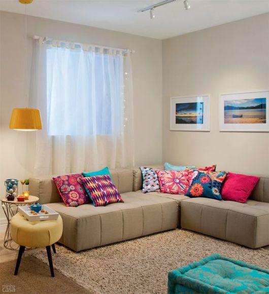 Sala de estar pequena dicas e ideias para decorar