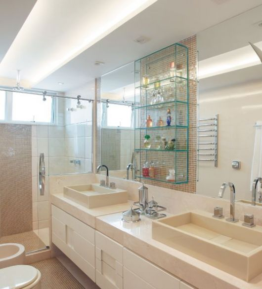 Banheiro bege combinaes de cores e 52 fotos de