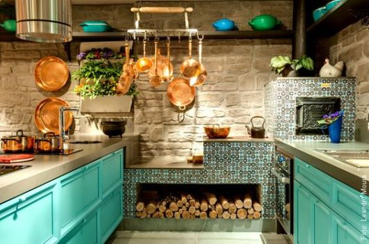 Cozinha rstica como decorar e 58 fotos lindas