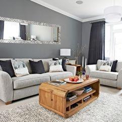 Colour Ideas Living Room Dado Rail Dark Blue Sets Sala Clean Moderna: Dicas E + De 30 Fotos Modelos!