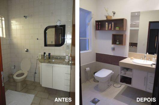 Reforma de Banheiro Ideias Criativas e 35 projetos