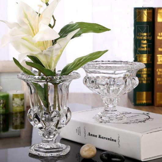 Decorao com Vaso de Cristal  68 Modelos Lindos  Dicas