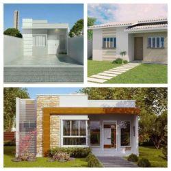 Casas pequenas e modernas 60 fachadas incríveis para se inspirar!