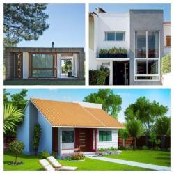Casas pequenas e modernas 60 fachadas incríveis para se inspirar! Diego oliveira noticias