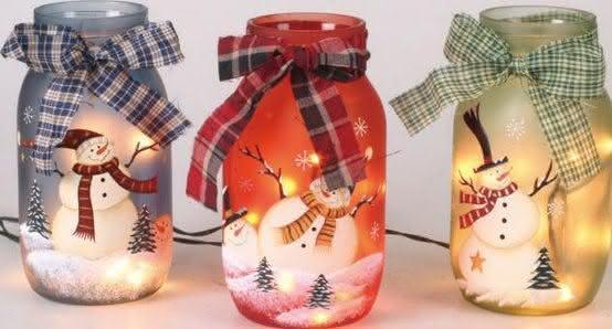 Vidros natalinos. (Foto: Divulgação)