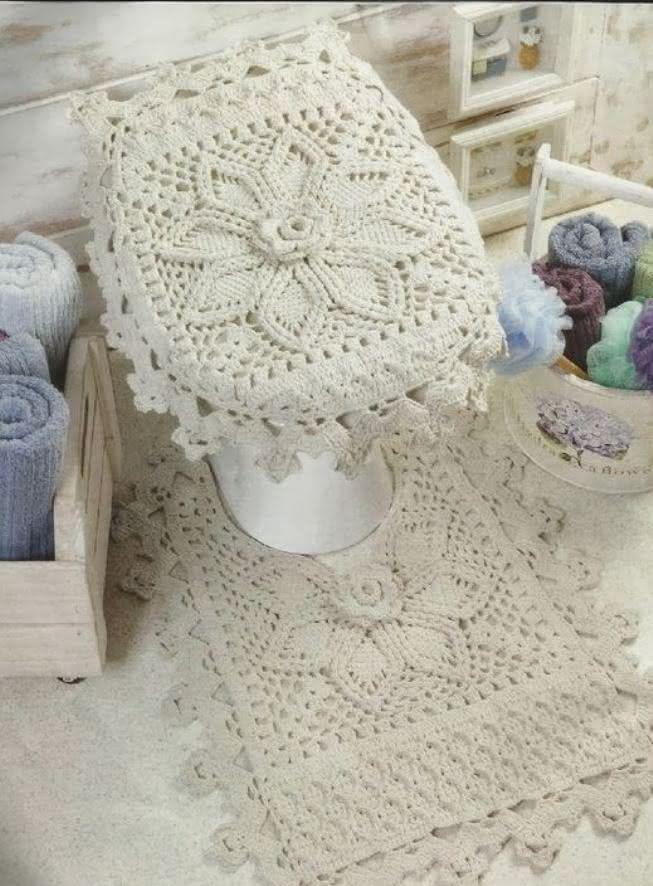 Tapete de croch confira modelos e ideias para decorar a casa