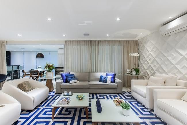 Sala de estar grande 8 dicas para aproveitar bem o espao