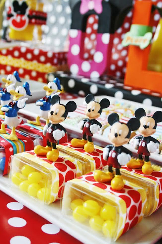 Festa Infantil Do Mickey Confira 25 Ideias Apaixonantes