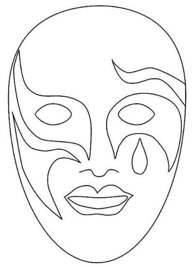 Moldes de Máscara de Carnaval 2018 (+ de 30 Modelos para