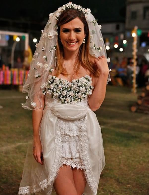 Vestidos caipiras para usar na Festa Junina de Noiva