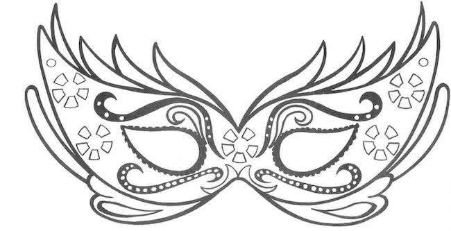 Moldes de Máscara de Carnaval 2019 (+ de 70 Modelos para