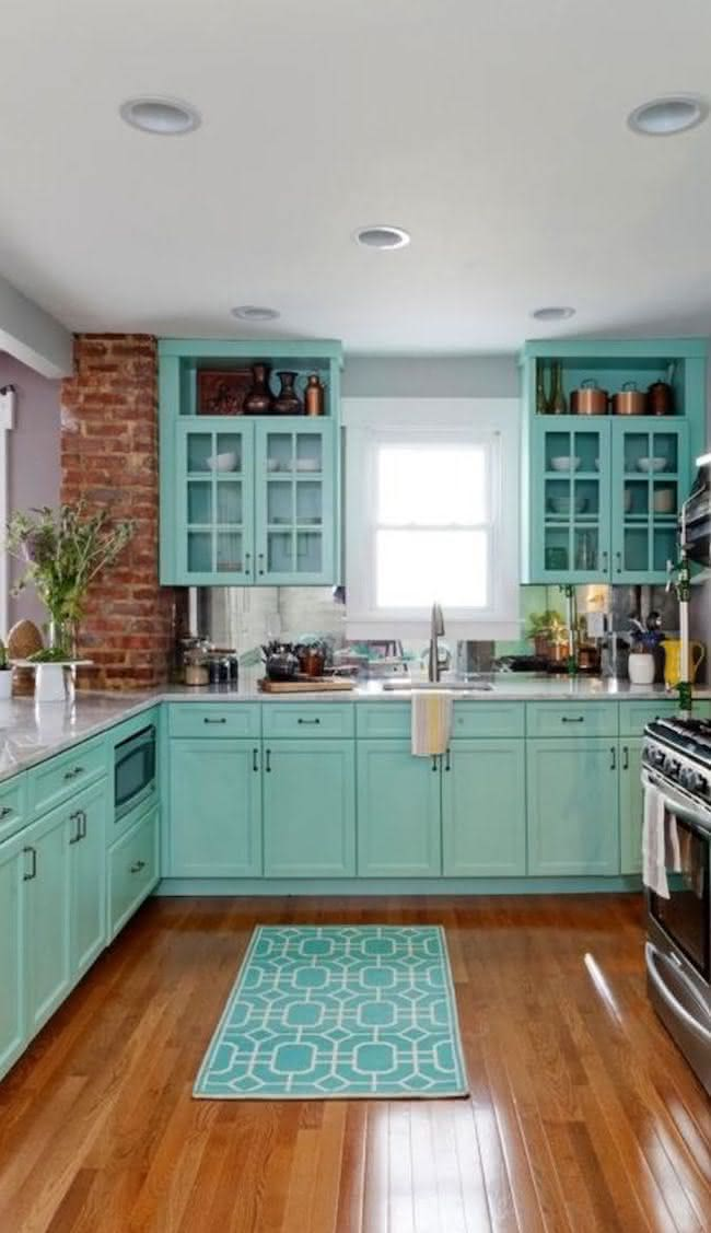 Azul Turquesa na Decorao da Casa dicas para usar essa cor