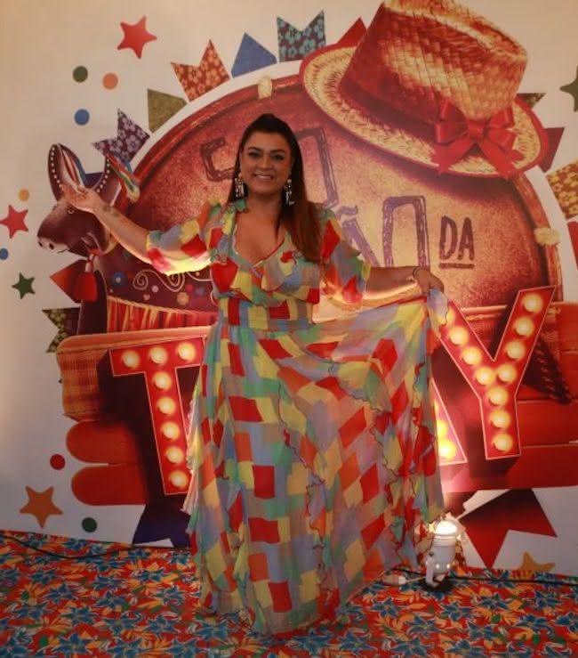 Fotos de  Vestidos caipiras e outros looks para festa junina