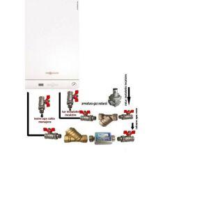 Pachet baza Centrala termica in condensatie Viessmann Vitodens 050 W 24 kW