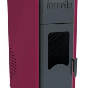 Termosemineu pe peleti Fornello Royal 18 kw complet echipat pentru incalzire