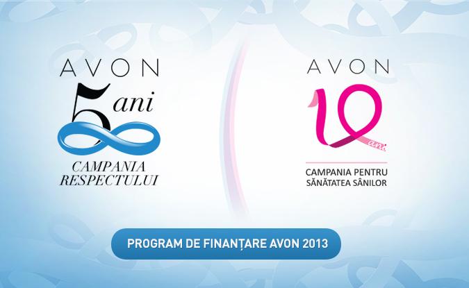 Program de finanțare Avon 2014