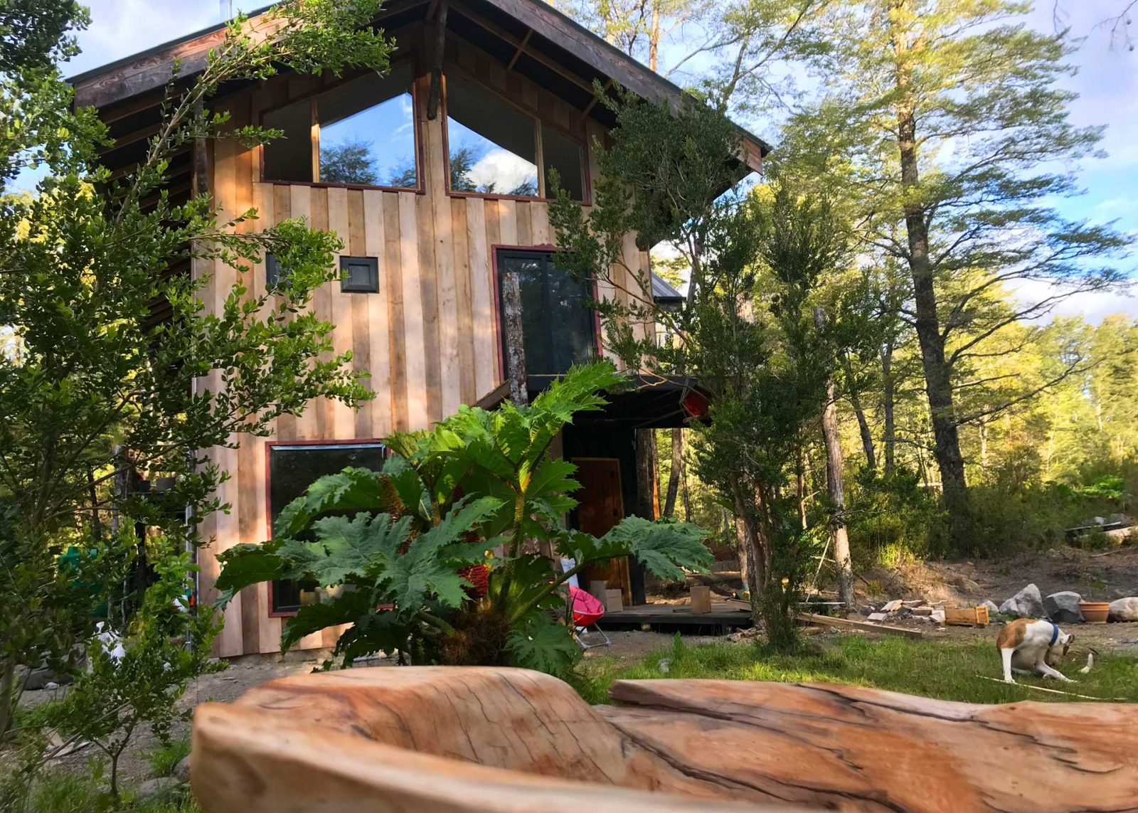Casa Gioia Lodge, Ensenada. Patagonia, Chile