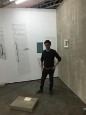 Sergio Verastegui at Casa Imelda's stand in Material Art Fair 2015