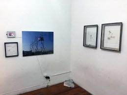 """Hernaín Bravo, Sergio Verastegui´s """"rag"""" and Alessa Esteban´s drawings"""