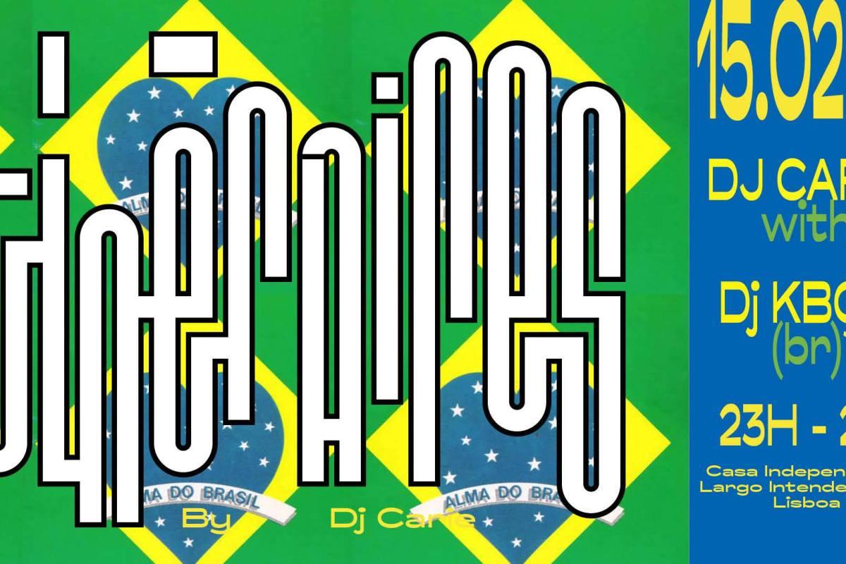 ITINÈRAIRES #26: De Sampa até Lisboa | 15 FEV | 23H00