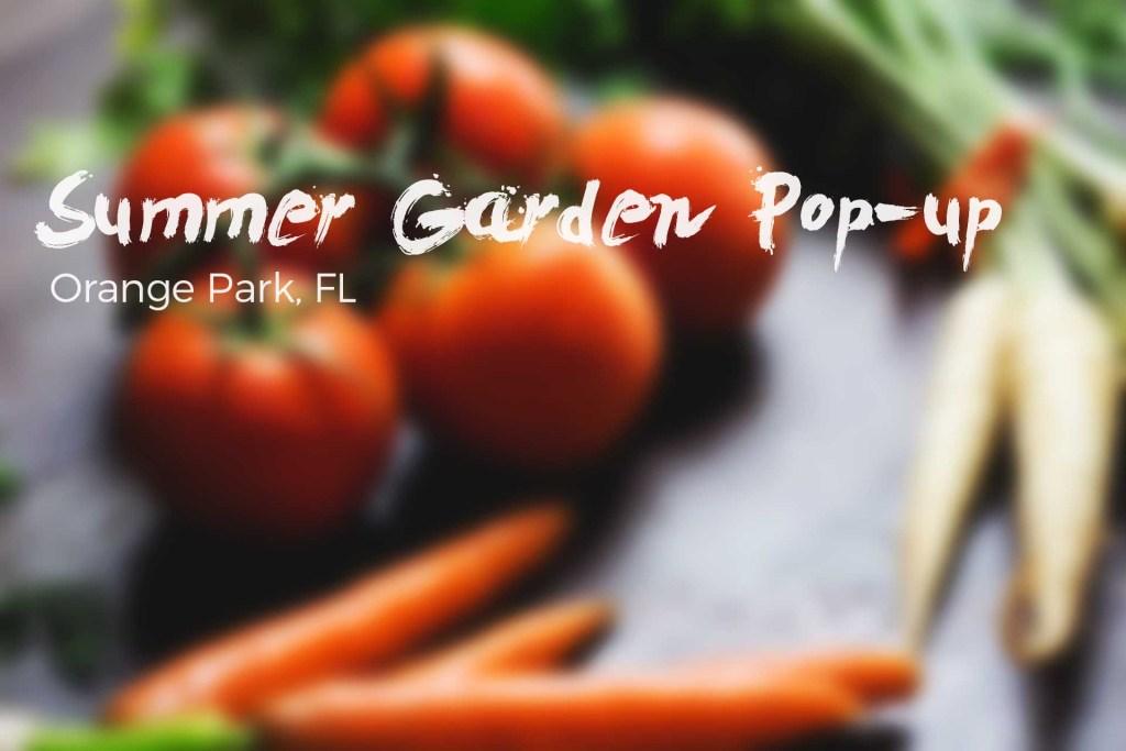 Orange Park Popup Summer Garden