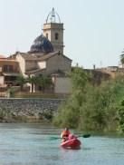 Río Júcar e iglesia