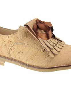 Chaussure en liège, Femme, Tendance, bois