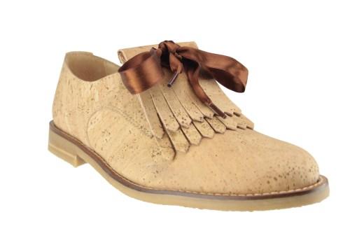 Chaussure en liège, Femme, Tendance, bois, Naturel