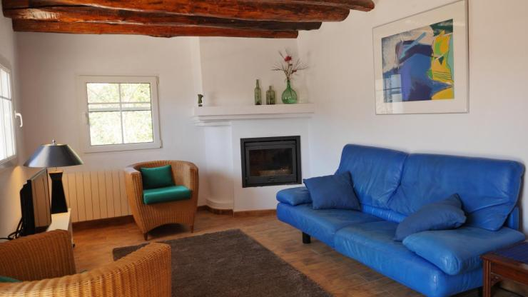 Casa Limon, salon chimenea - casa rural la alpujarra granada